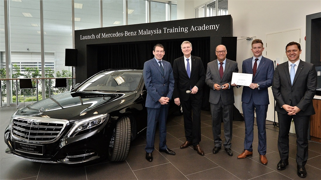 mercedes benz commits to malaysia with new hq training