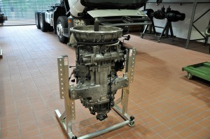 Mercedes-Benz Malaysia Training Academy - Mercedes Actros Truck Transmission