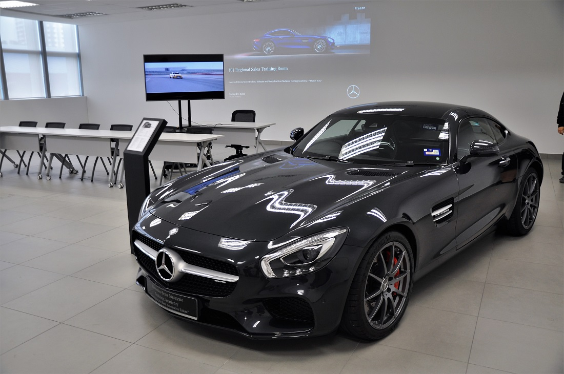 Mercedes benz commits to malaysia with new hq training for Mercedes benz salesman