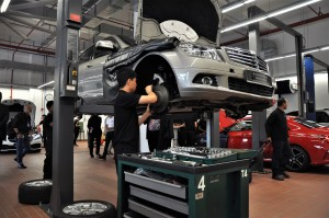 Mercedes-Benz Malaysia Training Academy Workshop Training, Practical