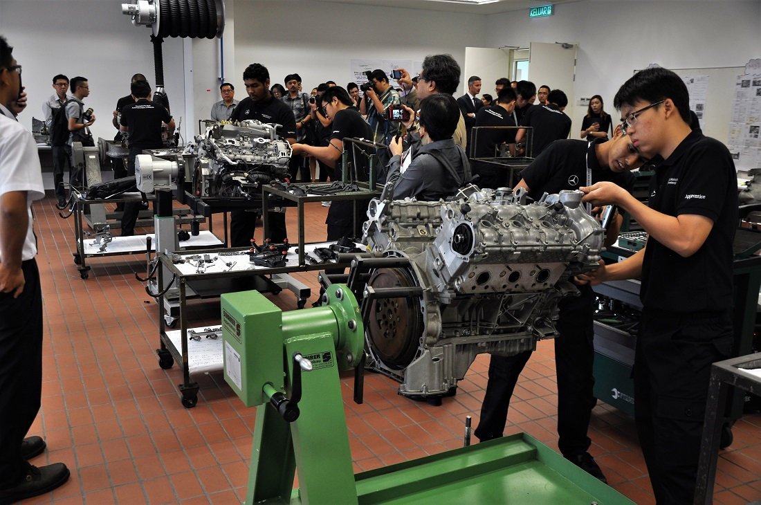 Mercedes benz commits to malaysia with new hq training for Mercedes benz training program