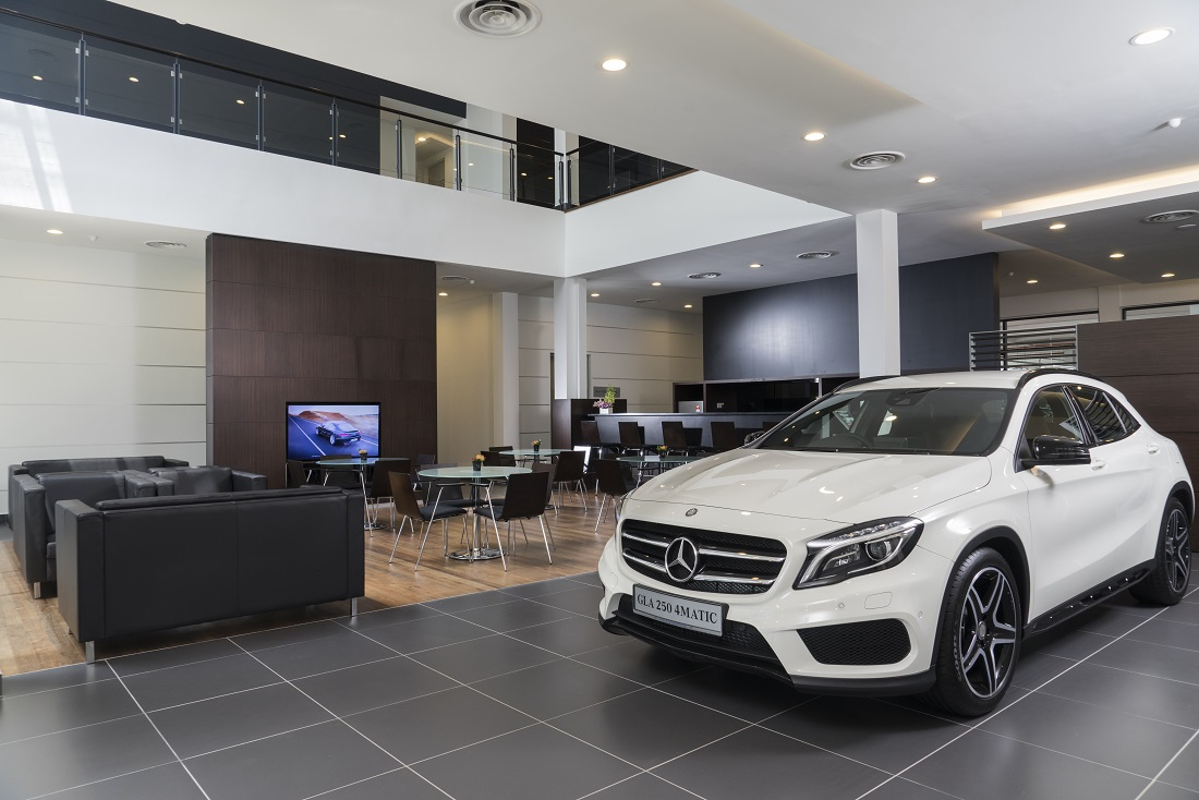 Mercedes benz malaysia boosts presence with opening of for Mercedes benz showroom near me