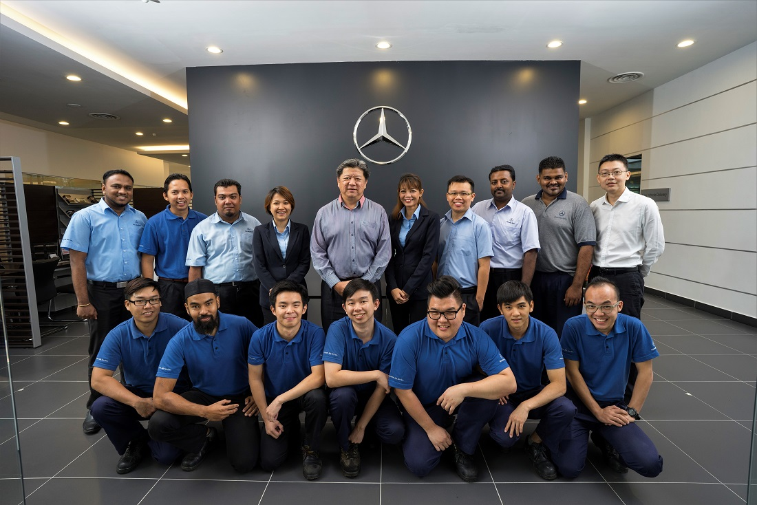 Mercedes benz malaysia boosts presence with opening of for Mercedes benz academy