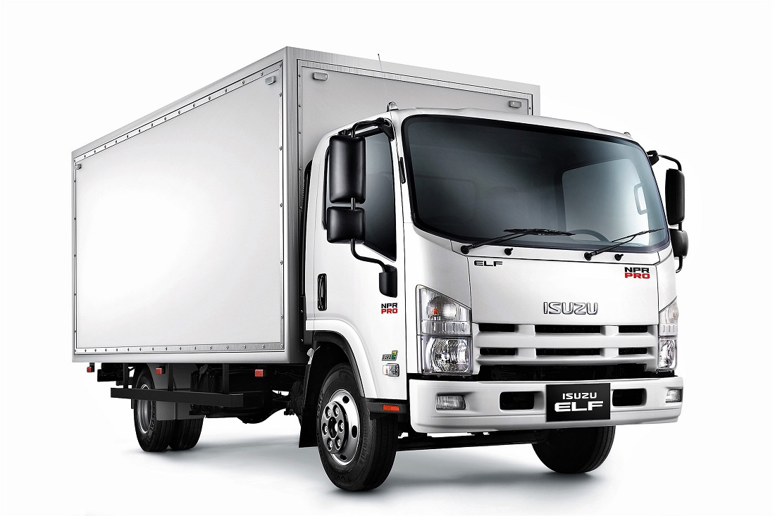 isuzu elf truck range gets updated and refreshed. Black Bedroom Furniture Sets. Home Design Ideas