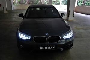 BMW 118i Sport Front Dark, Malaysia