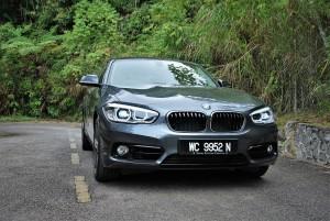 BMW 118i Sport Front Malaysia