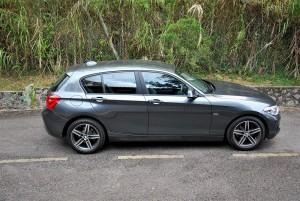 BMW 118i Sport F20 Side View, Malaysia