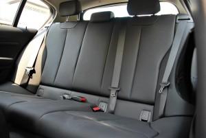 BMW 118i Sport F20 Facelift Rear Seats Malaysia