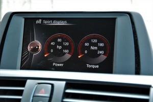 BMW 118i Sport iDrive Display Screen Sport Display, Malaysia