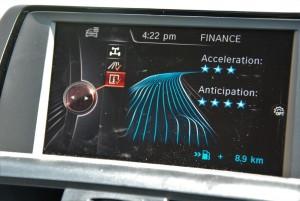BMW 118i Sport iDrive Display Drive Info, Malaysia