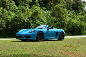 Porsche 718 Boxster S Berjaya Hills Malaysia