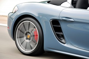 Porsche 718 Boxster S Side Vents