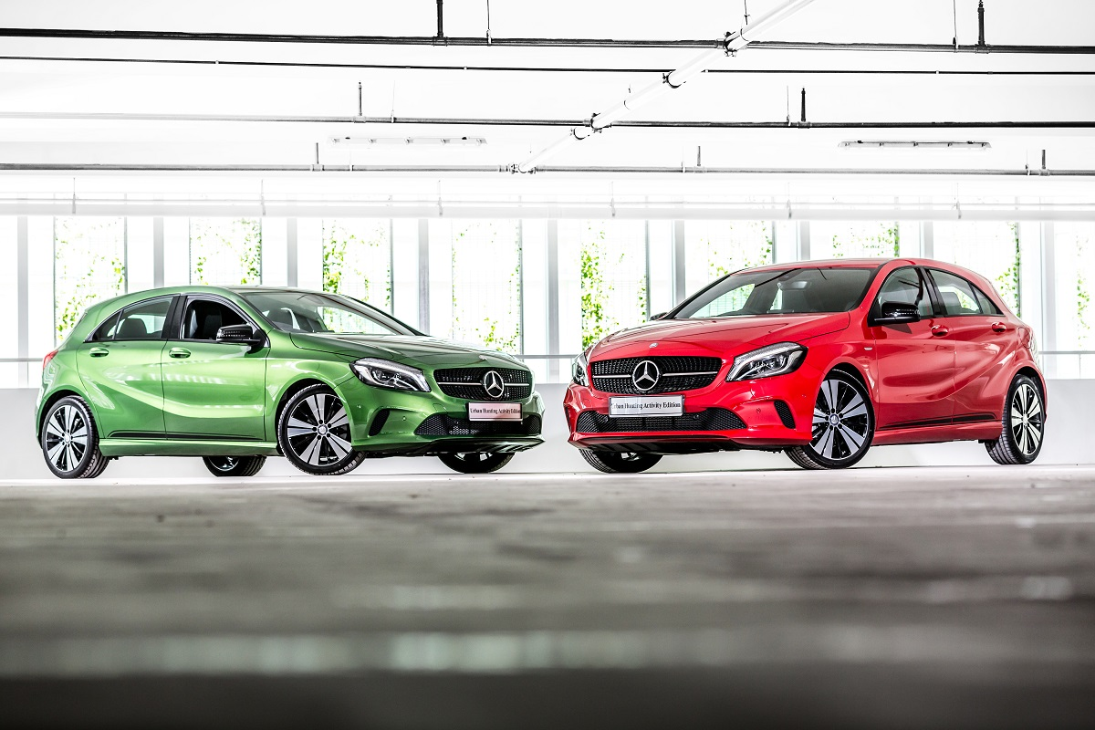 Mercedes benz malaysia offers limited a class urban for Mercedes benz limited edition