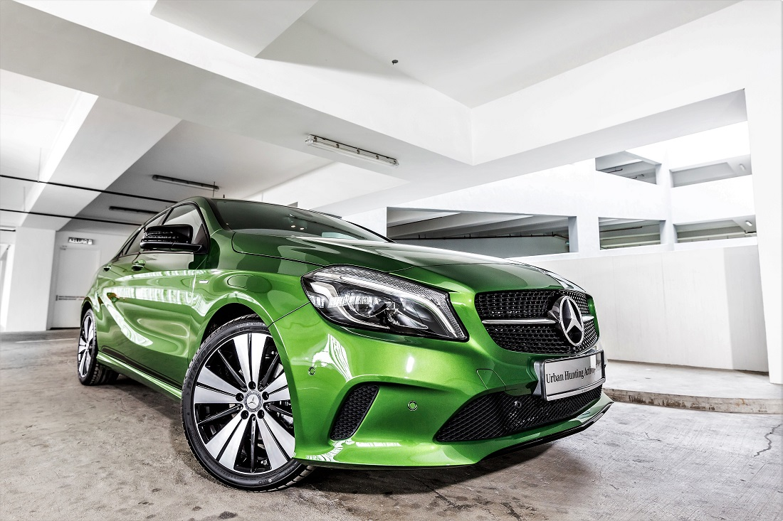 Mercedes benz malaysia offers limited a class urban for Mercedes benz financing offers
