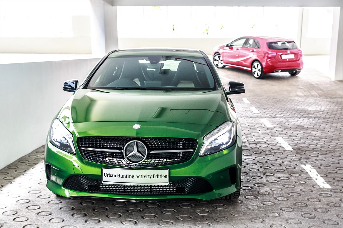 Mercedes benz malaysia offers limited a class urban for Mercedes benz promotions