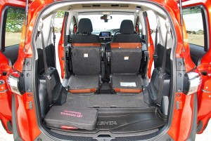 Toyota Sienta 1.5V Cabin - Rear Seats Folded