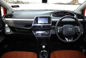 Toyota Sienta 1.5V Dashboard Malaysia