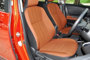 Toyota Sienta 1.5V Front Seats Malaysia