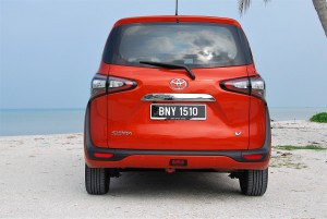 Toyota Sienta 1.5 Rear View Malaysia