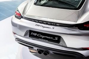 Porsche 718 Cayman S Rear End, Porsche Centre Penang Malaysia