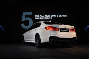 BMW 530i M Sport G30 Rear View Malaysia Launch 2017