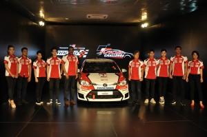Toyota Gazoo Racing Vios Challenge Celebrity Drivers, UMW Toyota Motor Malaysia