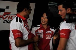 Ravindran Kurusamy UMW Toyota Motor With Celebrities, Toyota Gazoo Racing Vios Challenge