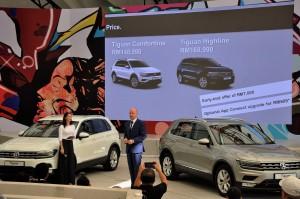 Volkswagen Tiguan Launch, Malaysia, Erik Winter Price Announcement