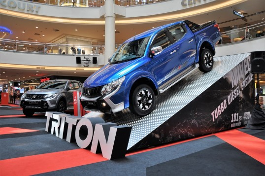 Mitsubishi Triton Pickup Gets Enhanced Warranty And Features