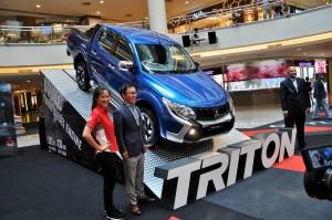 Mitsubishi Triton Malaysia, Leona, Shinnishi, Ilham