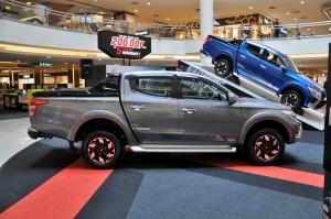 Mitsubishi Triton, Mitsubishi Motors Malaysia Roadshow Midvalley Megamall 2017