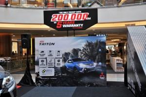 Mitsubishi Motors Malaysia Roadshow 2017, Mitsubishi Triton