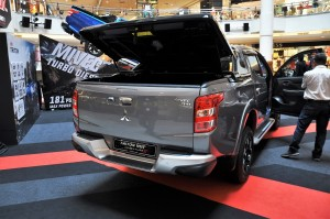 Mitsubishi Triton VGT Adventure X Rear
