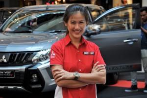 Mitsubishi Motors Malaysia Roadshow Mid Valley Megamall, Mitsubishi Triton, Leona Chin