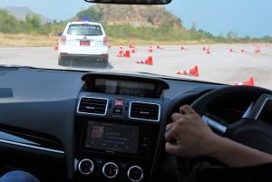 Subaru Steering Wheel Turn