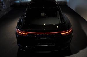 Porsche Panamera 4S Black Rear Malaysia 2017