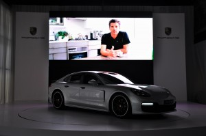 Porsche Panamera Malaysia Launch 2017, Patrick Dempsey Video
