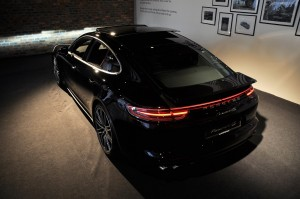 Porsche Panamera Malaysia Launch 2017 Black Rear