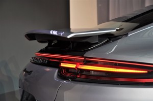 Porsche Panamera Rear Spoiler Malaysia Launch 2017
