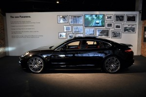 Porsche Panamera Black Side View Malaysia Launch 2017