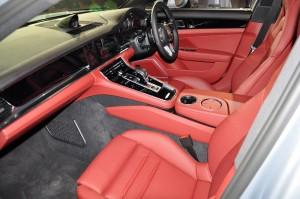 Porsche Panamera Front Seats Malaysia Launch 2017