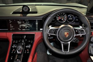 Porsche Panamera Malaysia Launch 2017 Cockpit