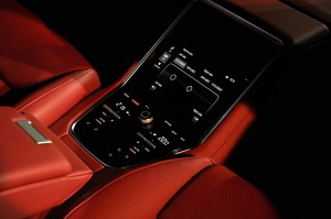 Porsche Panamera Rear Touch Control Panel Malaysia Launch 2017