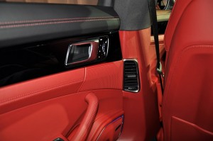 Porsche Panamera Rear Air Vent Malaysia Launch 2017