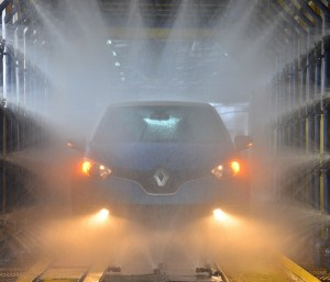 One of the final quality tests at TCMA for the locally-assembled Renault Captur - Copy