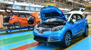 Locally-assembled Renault Captur pending finishing touches - Copy