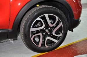 Renault Captur Front Wheel, Tan Chong Euro Cars Malaysia
