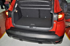 Renault Captur Boot, Flame Red, Malaysia Local Assembly