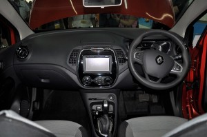 Renault Captur Dashboard, Malaysia Tan Chong Euro Cars