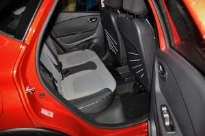 Renault Captur Rear Seats Malaysia Local Assembly